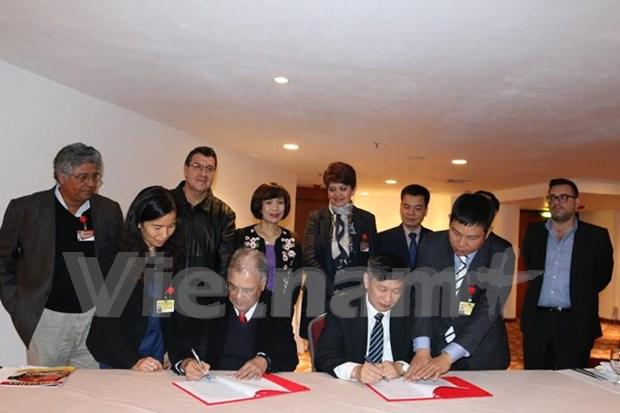 墨西哥和拉美各国政党希望推动与越南共产党合作关系 hinh anh 1