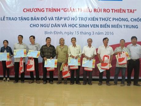 越南协助广义省渔民提高提高自然灾害应对能力 hinh anh 1