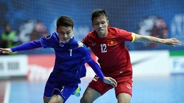 2016年东南亚五人制足球锦标赛:越南队与泰国队同组 hinh anh 1