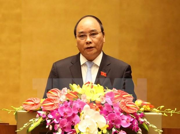 第十三届国会十一次会议:力争今后5年经济增长达6.5%至7% hinh anh 1
