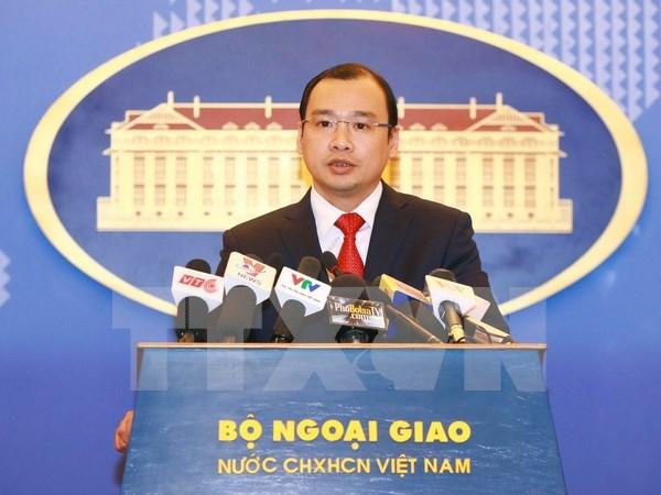越南坚决反对并要求中国台湾尊重越南的领土主权 hinh anh 1
