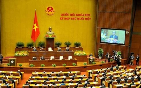 越南第十三届国会第十一次会议发表第四号公报 hinh anh 1