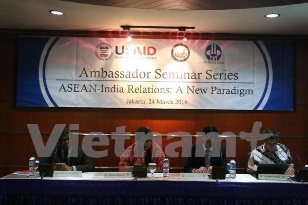 东盟与印度关系走向新型合作模式 hinh anh 1