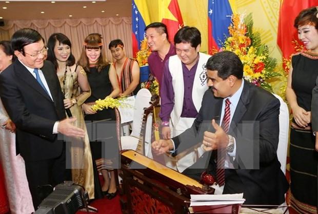 越南人民一直关注委内瑞拉国情和人民 hinh anh 1