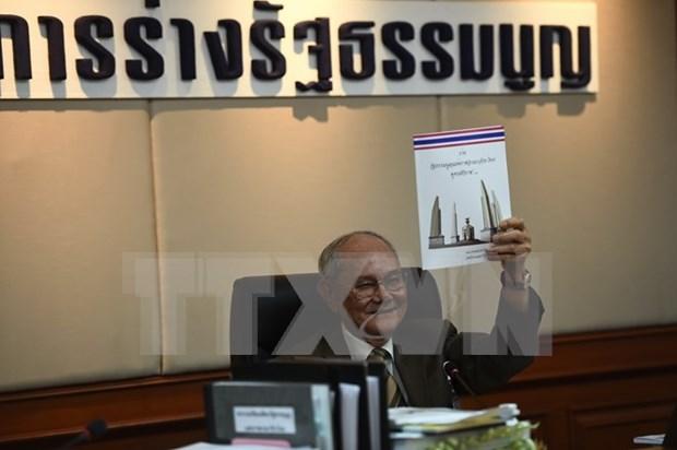 泰国确定新宪法草案 hinh anh 1