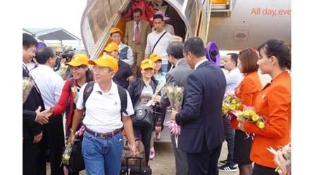 越南捷星太平洋航空公司开通顺化至金兰新直达航线 hinh anh 1