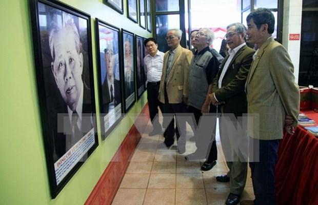"""""""越南共产党和越南国会发展史上的重要里程碑""""图片展在太原省举行 hinh anh 1"""