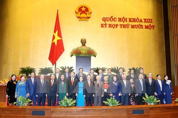 越南第十三届国会第十一次会议圆满落幕 hinh anh 1