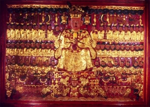 雒龙君浮雕像被列入越南国宝名录 hinh anh 1