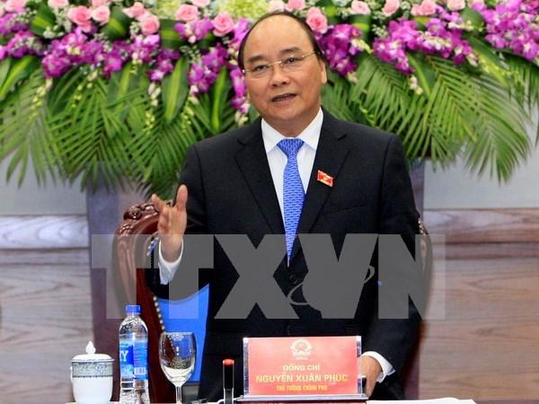 越南政府总理和各位副总理工作任务分工明确 hinh anh 1