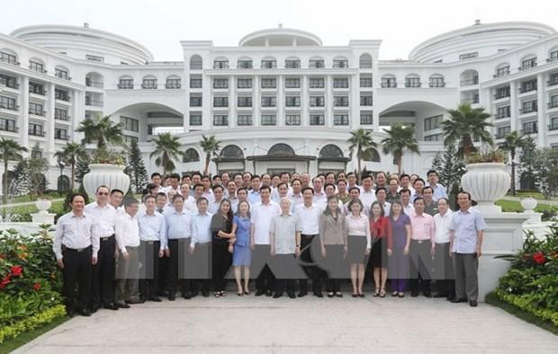 阮富仲总书记:广宁省须正确且有效地实现中央所提出的主张 hinh anh 1
