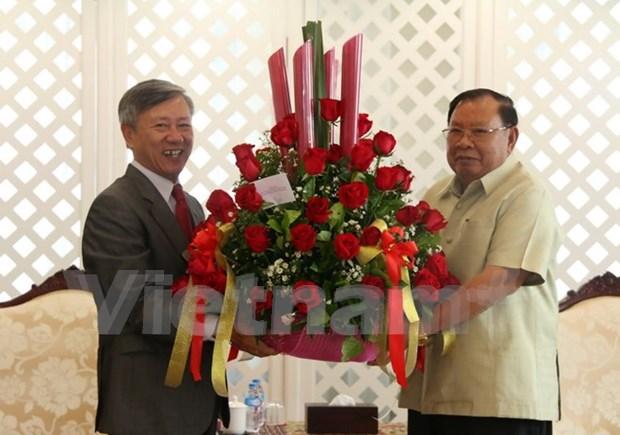 越南向老挝新任国家主席沃拉吉致以热烈祝贺 hinh anh 1