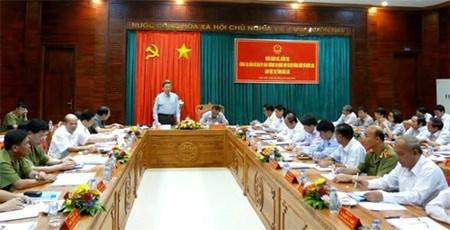 越南全国各地为选举工作做好准备 hinh anh 1