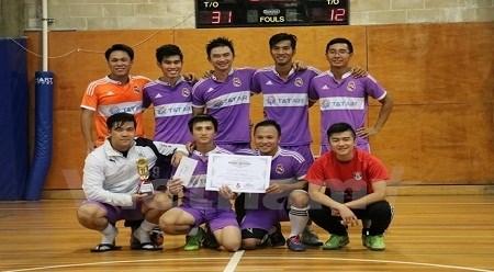 2016年澳大利亚越南留学生体育节首次在澳大利亚举行 hinh anh 1