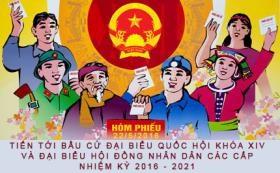 迎来新一届国会代表选举:昆嵩省各山区村庄洋溢着喜庆的气氛 hinh anh 1