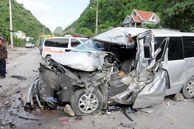 四天假期越南全国因交通事故死亡人数111人 hinh anh 1