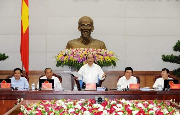阮春福总理要求加大放权力度 hinh anh 1