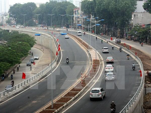 河内城市交通发展项目将于2016年底完工 hinh anh 1