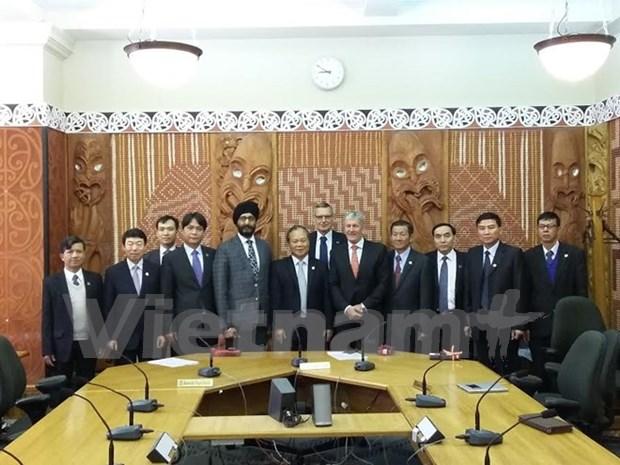 越南国会法律委员会代表团对新西兰和澳大利亚进行工作访问 hinh anh 1