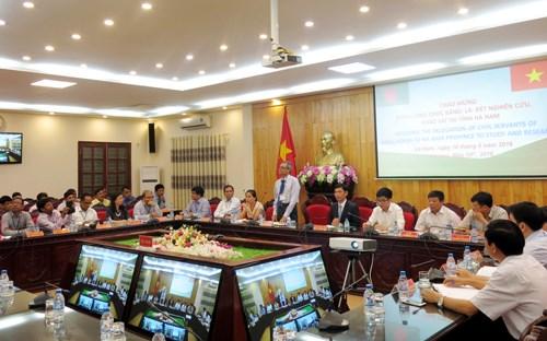 孟加拉国高级公务员代表团访问对越南河南省 hinh anh 1