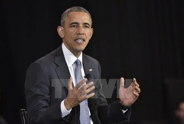 美国白宫:奥巴马总统将访问越南和日本 hinh anh 1