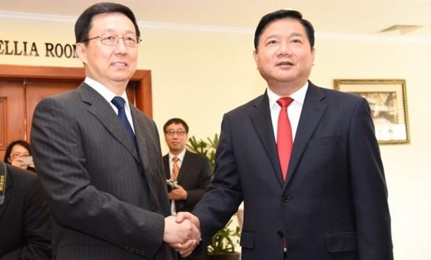 越南胡志明市与中国上海市加强合作 hinh anh 1