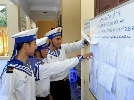 新一届国会和各级人民议会代表选举:长沙岛县选民的期望 hinh anh 1