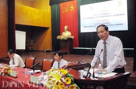 """题为""""越南加入TPP后对农民的帮扶措施""""的研讨会在河内举办 hinh anh 1"""