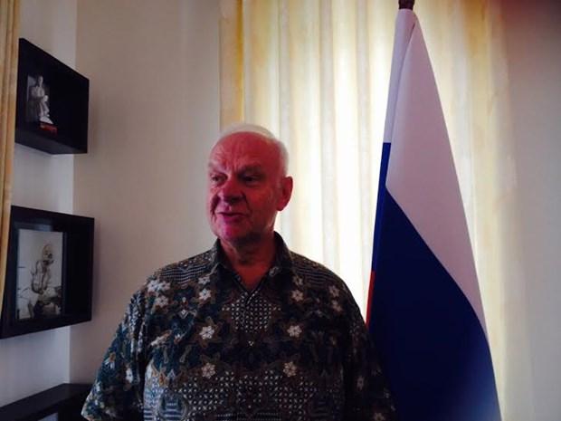 俄罗斯驻越南大使弗努科夫:俄罗斯支持东海航行与飞越自由 hinh anh 1