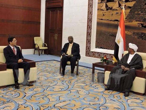 苏丹总统:越苏应继续促进各领域务实合作 hinh anh 1