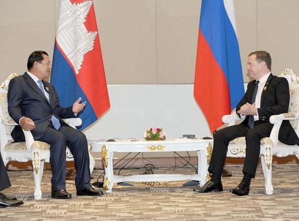 俄罗斯与柬埔寨签署8项合作协议 hinh anh 1