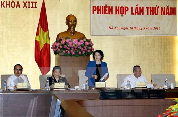 越南国家选举委员会召开第五次会议 hinh anh 1