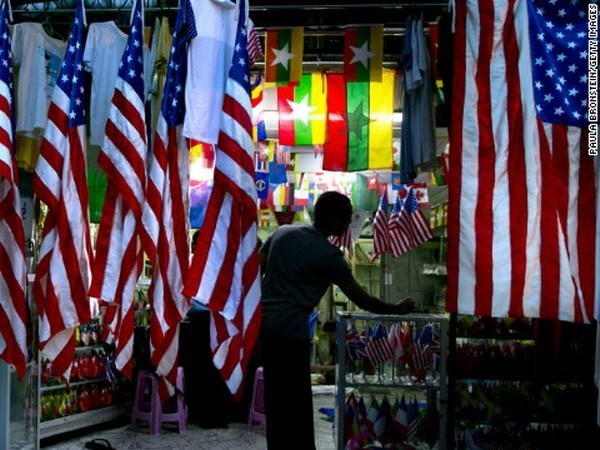美国放松部分对缅甸的经济制裁 hinh anh 1