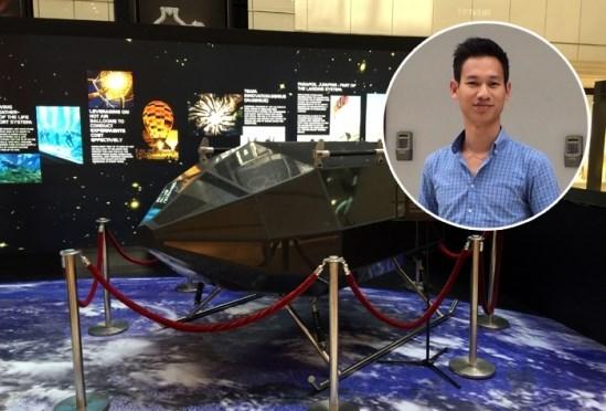 越南首艘空间飞船成功发射 hinh anh 1