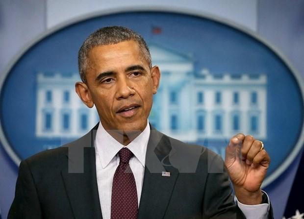 美国就奥巴马总统出访越南举行国际媒体吹风会 hinh anh 1