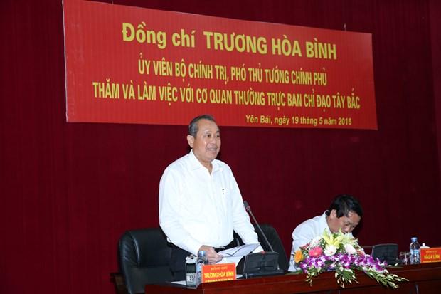 张和平副总理同西北地区事务指导委员会领导座谈 hinh anh 1