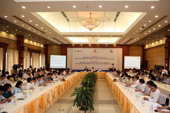 越南将大力改善经营环境和提高竞争能力 hinh anh 1