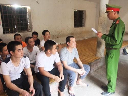 越南选举日临近:富寿省等省市努力确保各看守所在押人员选举权 hinh anh 1