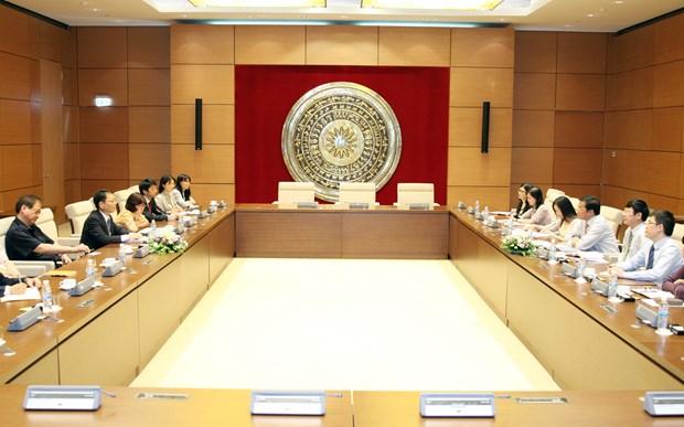 越南国会办公室与日本国际协力机构加强合作 hinh anh 1