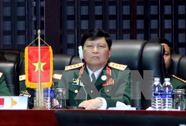 东盟-中国防长非正式会晤:越南提出2点倡议 hinh anh 1