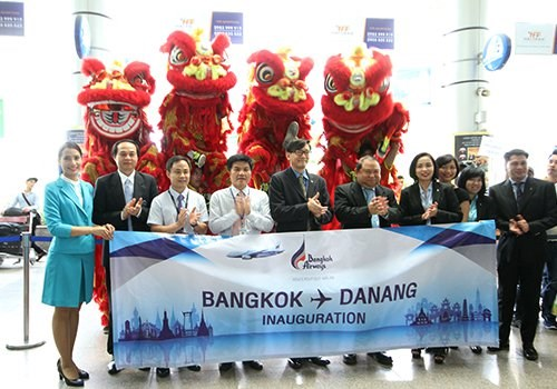越南岘港与泰国曼谷开通往返直达航线 hinh anh 1