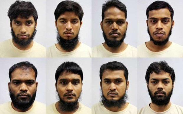 新加坡以恐怖罪名正式指控6名孟加拉国籍分子 hinh anh 1