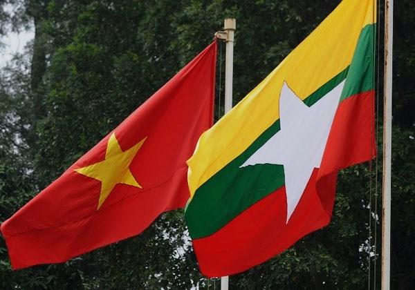 越缅两国外交部加强合作 hinh anh 1