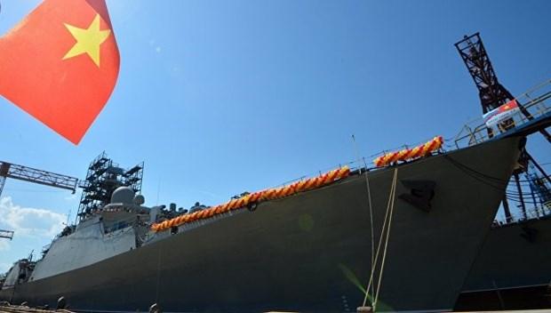 俄罗斯将继续为越南制造2艘猎豹护卫舰 hinh anh 1