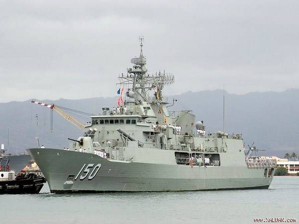 澳洲海军纽澳军团级巡防舰访问越南 hinh anh 1