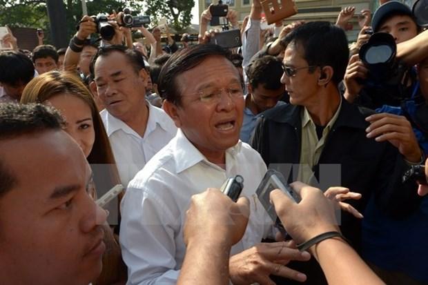 柬埔寨救国党议员请求国王干涉根索卡性丑闻案 hinh anh 1