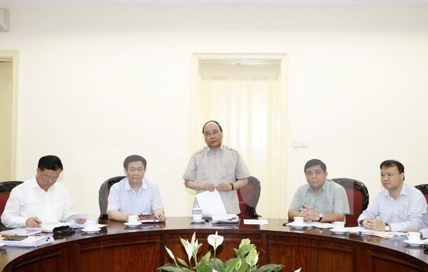 越南政府暂不调整经济社会发展既定目标 hinh anh 1