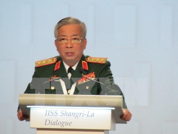 第15届香格里拉对话会:越南支持以合作与斗争方式解决争端和避免冲突 hinh anh 1