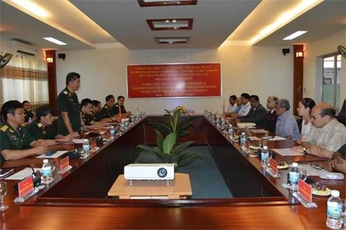 越印两国加强国防信息联络培训领域合作 hinh anh 1