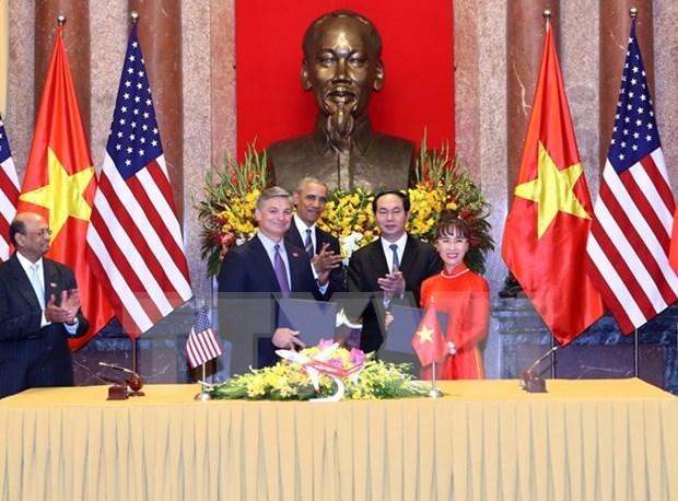 越美保持密切合作促进双边贸易额增长 hinh anh 1